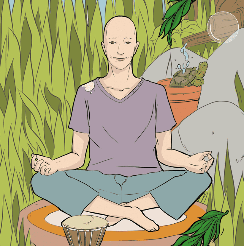 Meditation und Yoga lernen